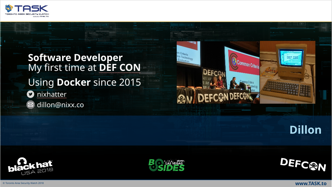 15 minute recap of a Defcon Talk on Containers